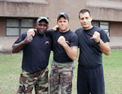 Rangers Muay thai Training